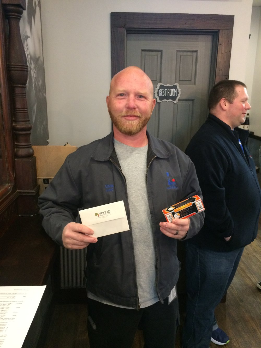 Chris Kahler - Venue $25 Gift Certificate Winner.JPG