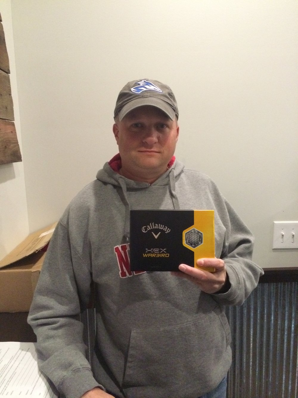 Jeffrey Miller _ Home Solutions of Nebraska's Monthly Dozen Golf Ball Giveaway Winner.JPG