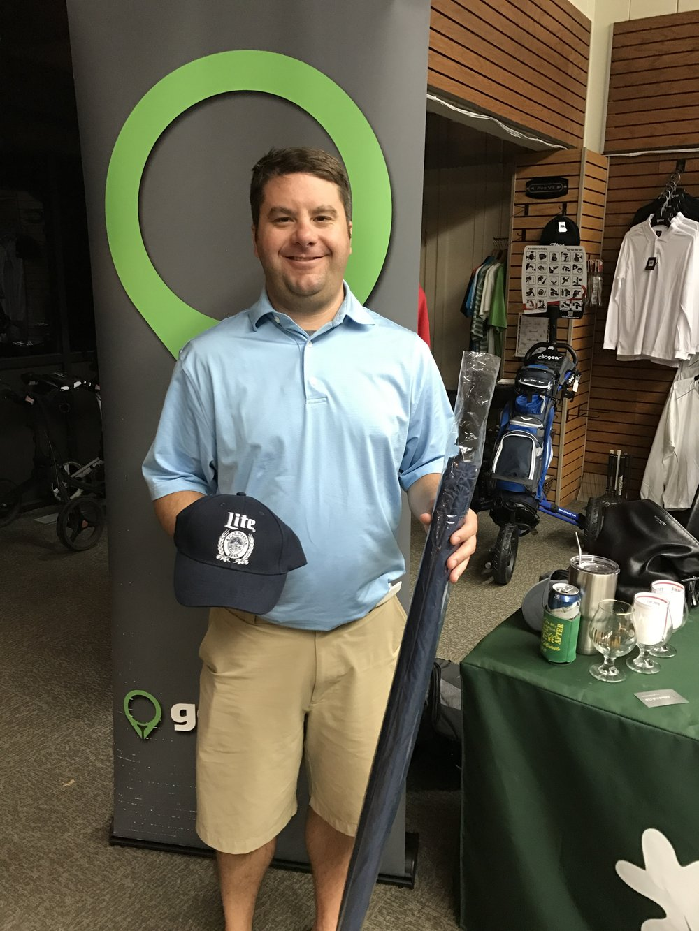 Owen Schuette Miller Lite Umbrella & Hat Winner.jpg