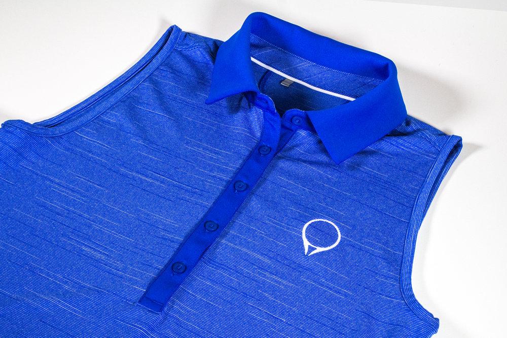 Ladies GolfStatus polo by Under Armour  Lapis Blue  |  $60