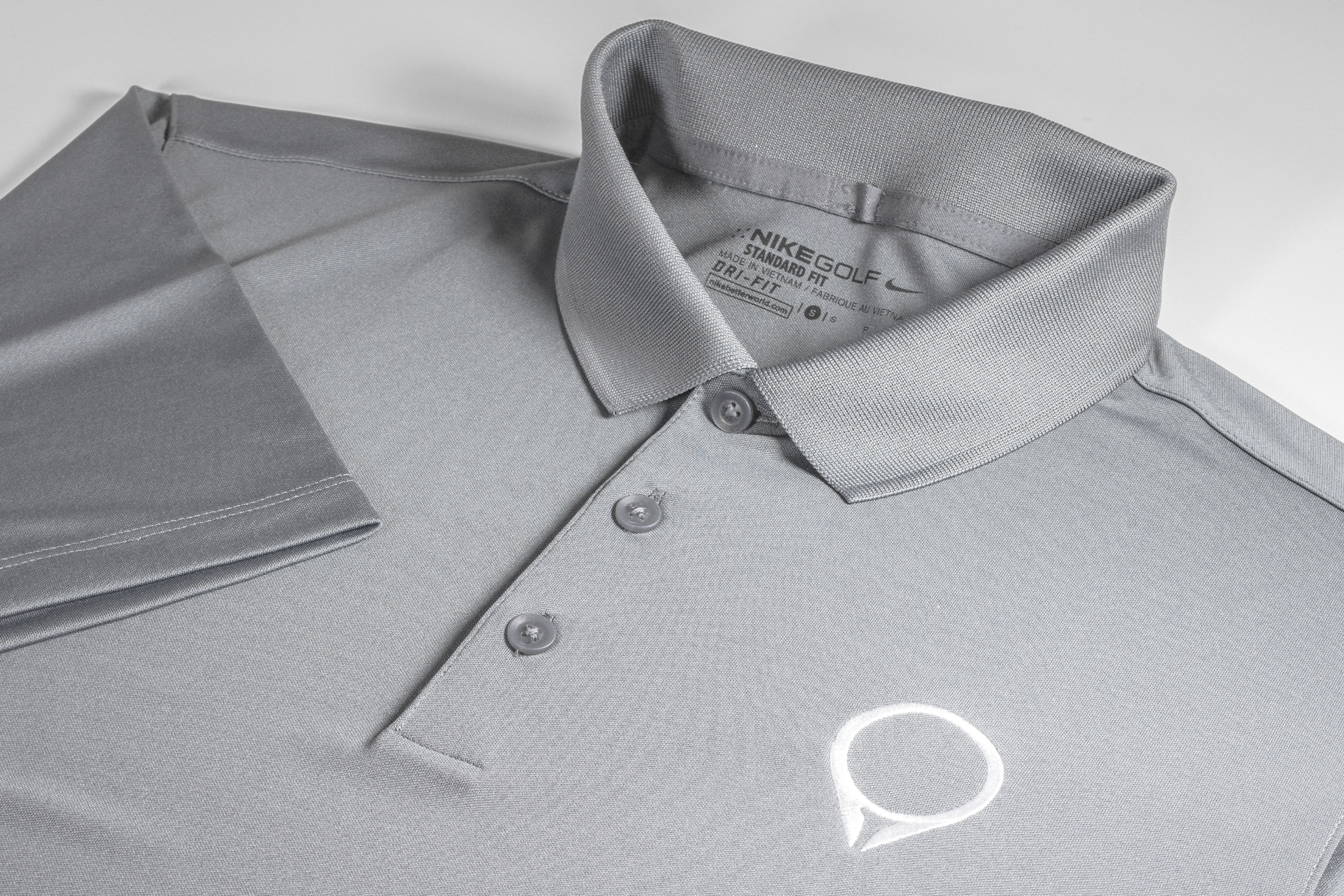 2e4378be2 Dri-FIT Victory Polo - Light Grey — GolfStatus