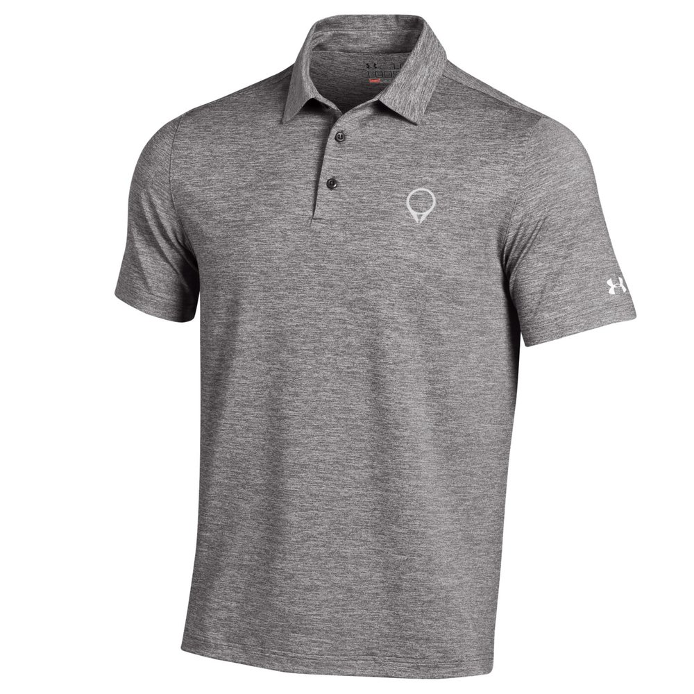 GolfStatus polo by Under Armour