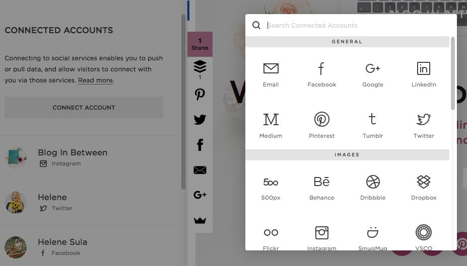 Squarespace Social Media