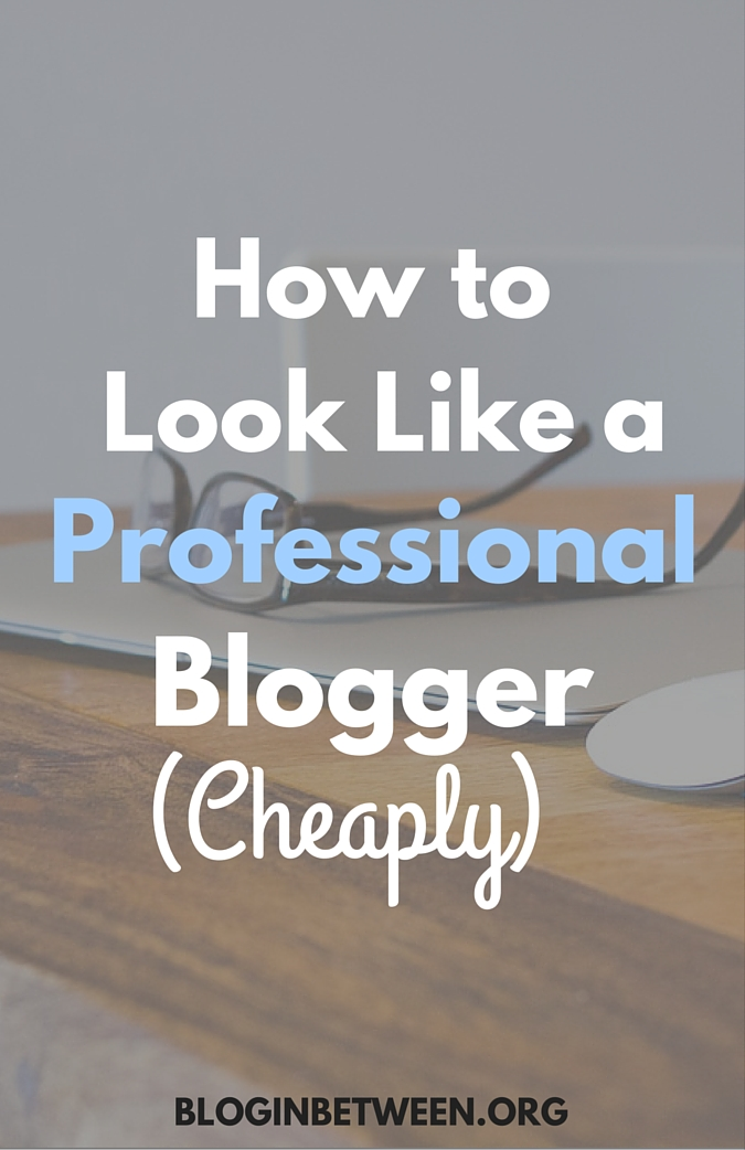 How to Look Like A Professional Blogger (Cheaply!)