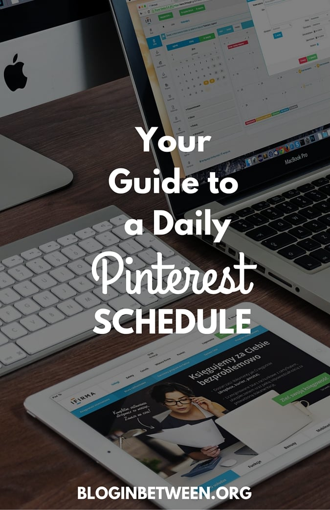Your Guide to A Daily Pinterest Schedule
