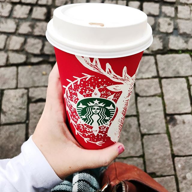 Raise your hand if you're as excited as I am for #redcups?! #blogbossbabe