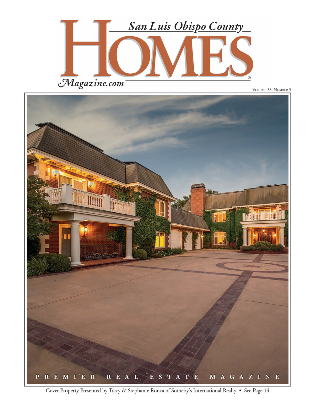 Homes magazine cover