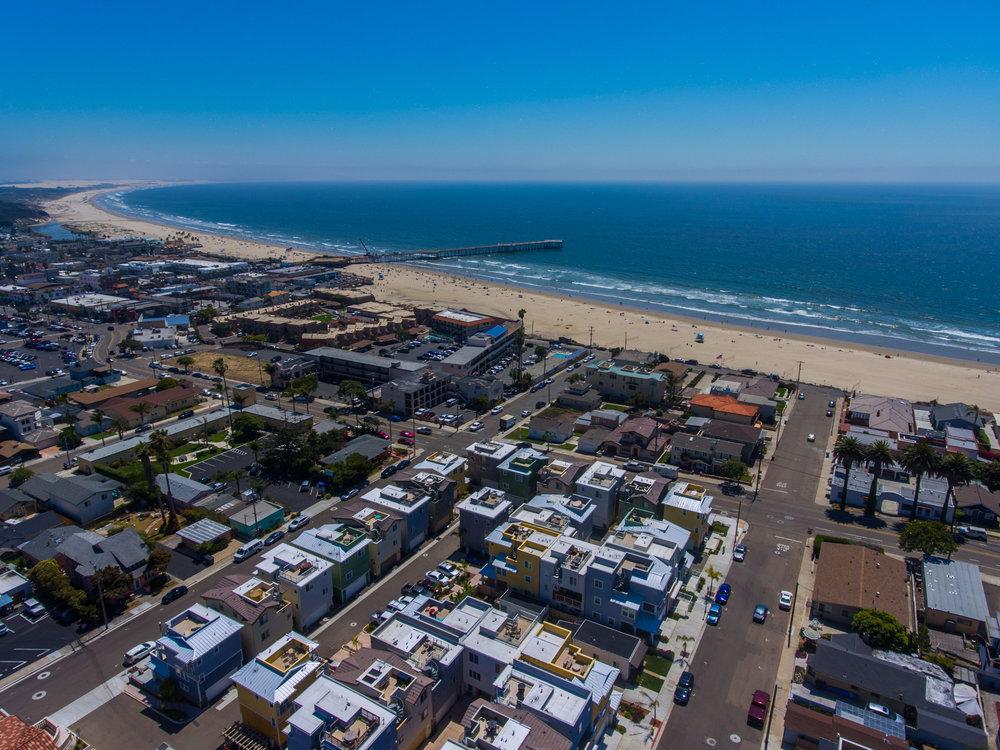 Drone sample - Pismo Beach