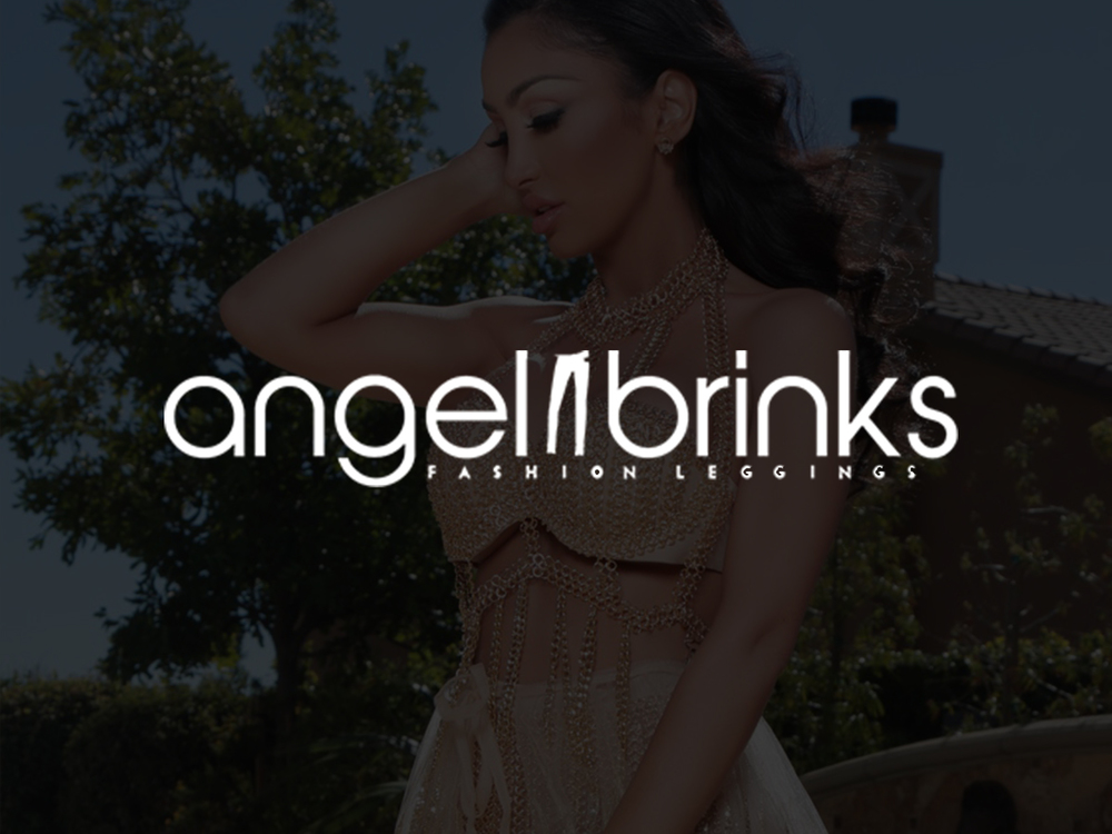Angel Brinks Fashion Leggings  Collateral Design | Content Development