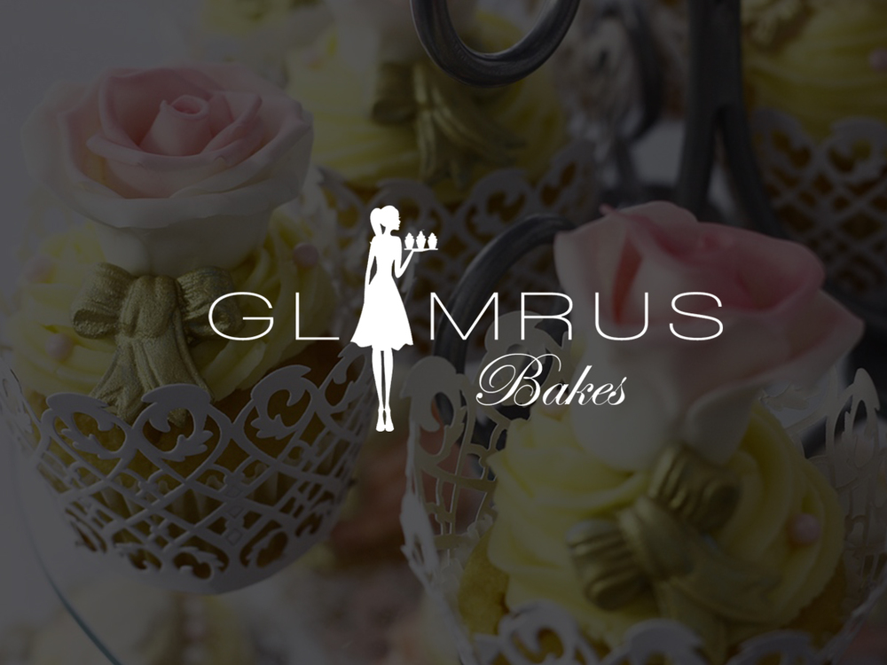 Glamrus Bakes  Collateral Design | Content Development