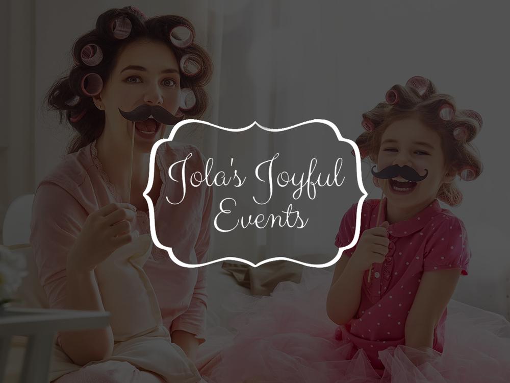 Jolas Joyful Events Collateral Design | Content Development