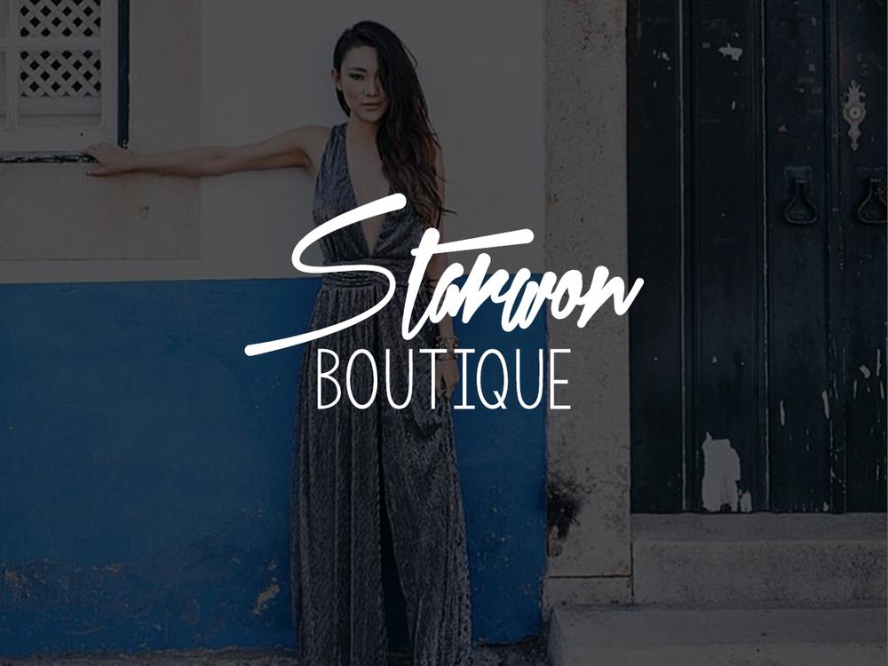 Starwon Boutique Collateral Design | Content Development