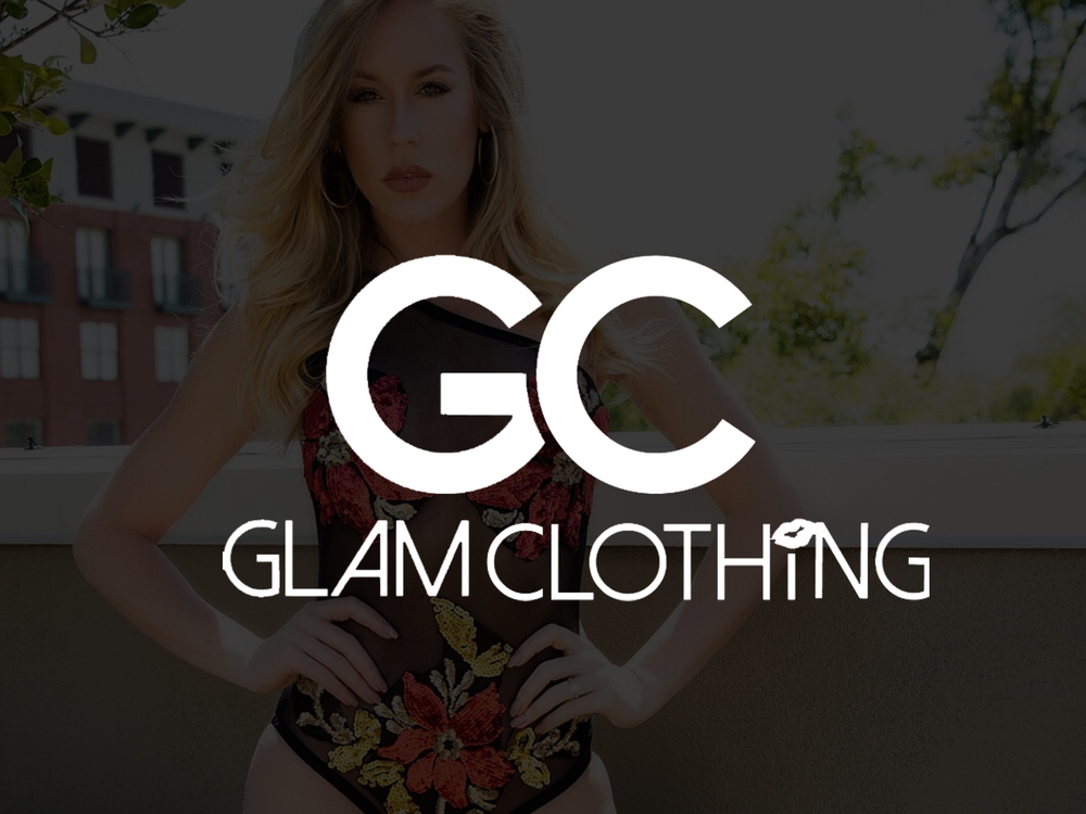 Glam Clothing  Website Design | Collateral Design | Content Development