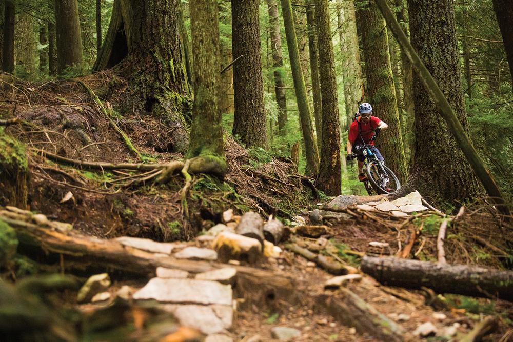 Leslie Kehmeier / Mt.Fromme, British Columbia