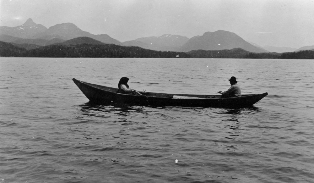 Klag Bay, Alaska, in 1916, taken by Conor's great-grandfather, Henry Baumann, who married Freeburn's daughter.