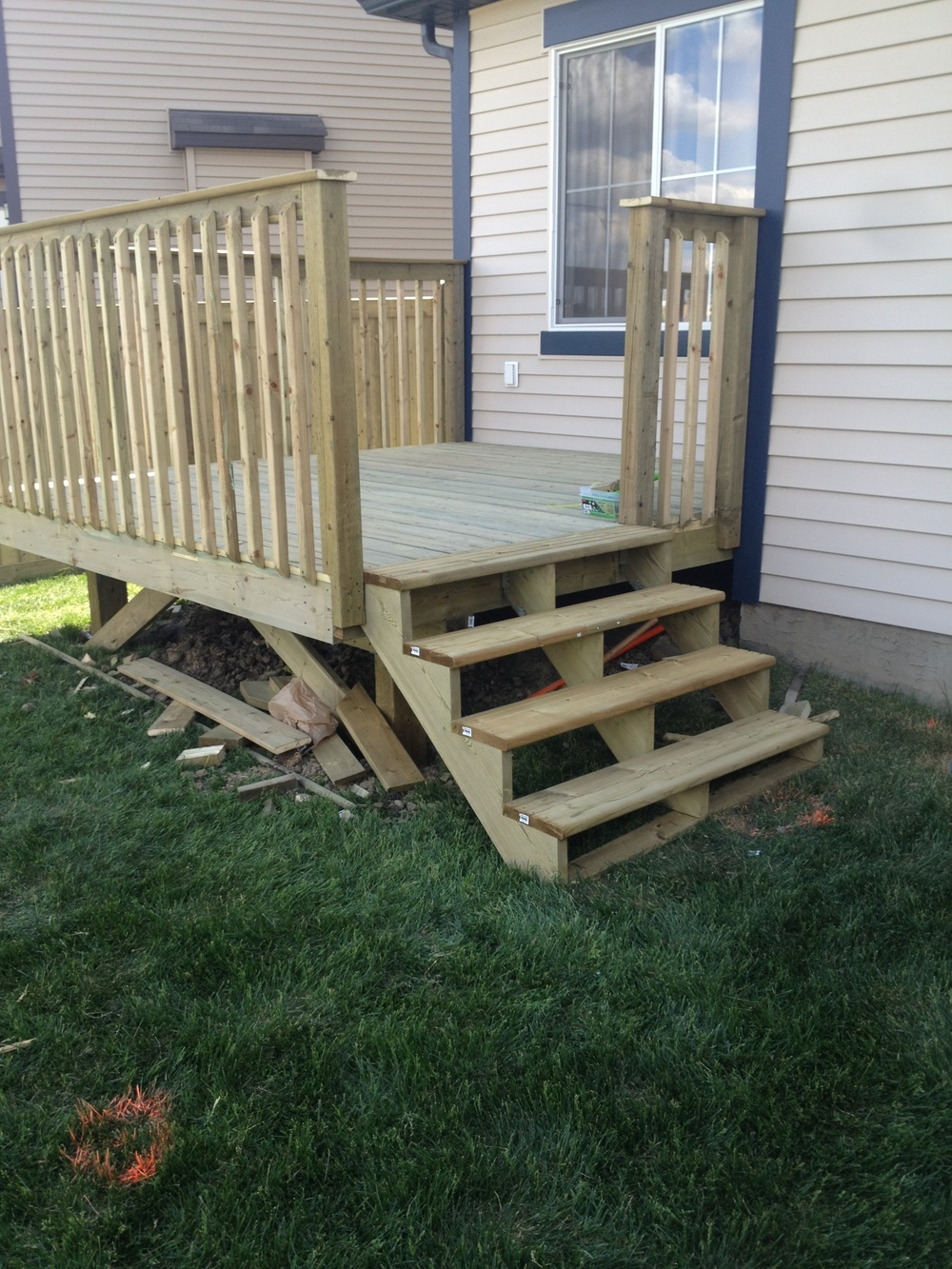 Exterior Projects - Walker Lakes Deck