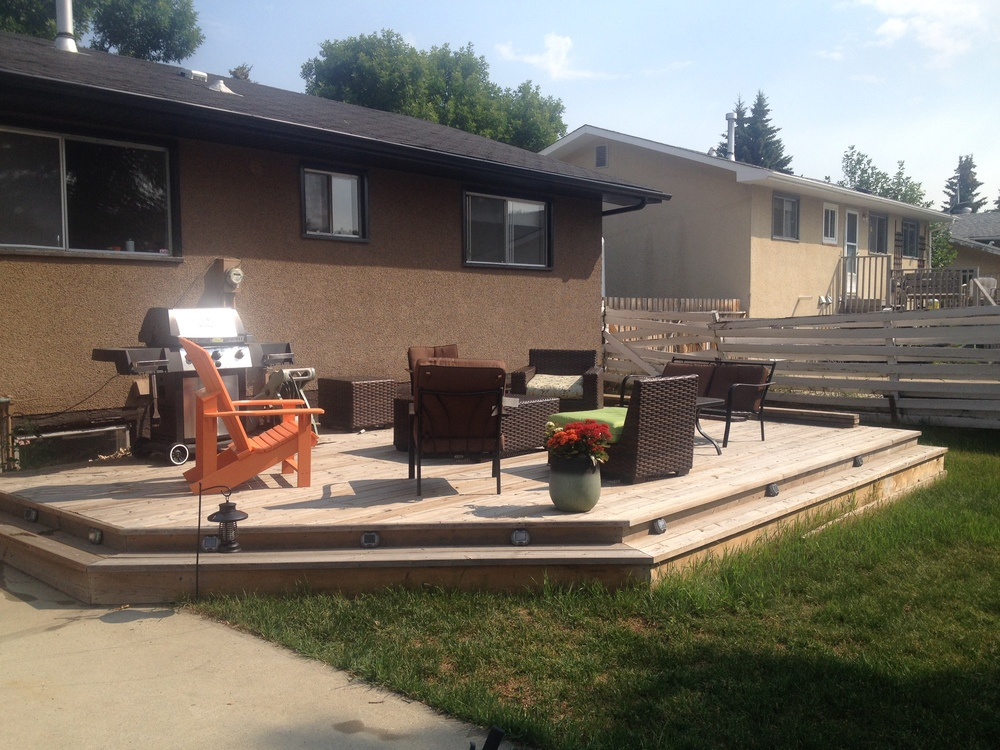 Exterior Projects - Sherwood Park Decks