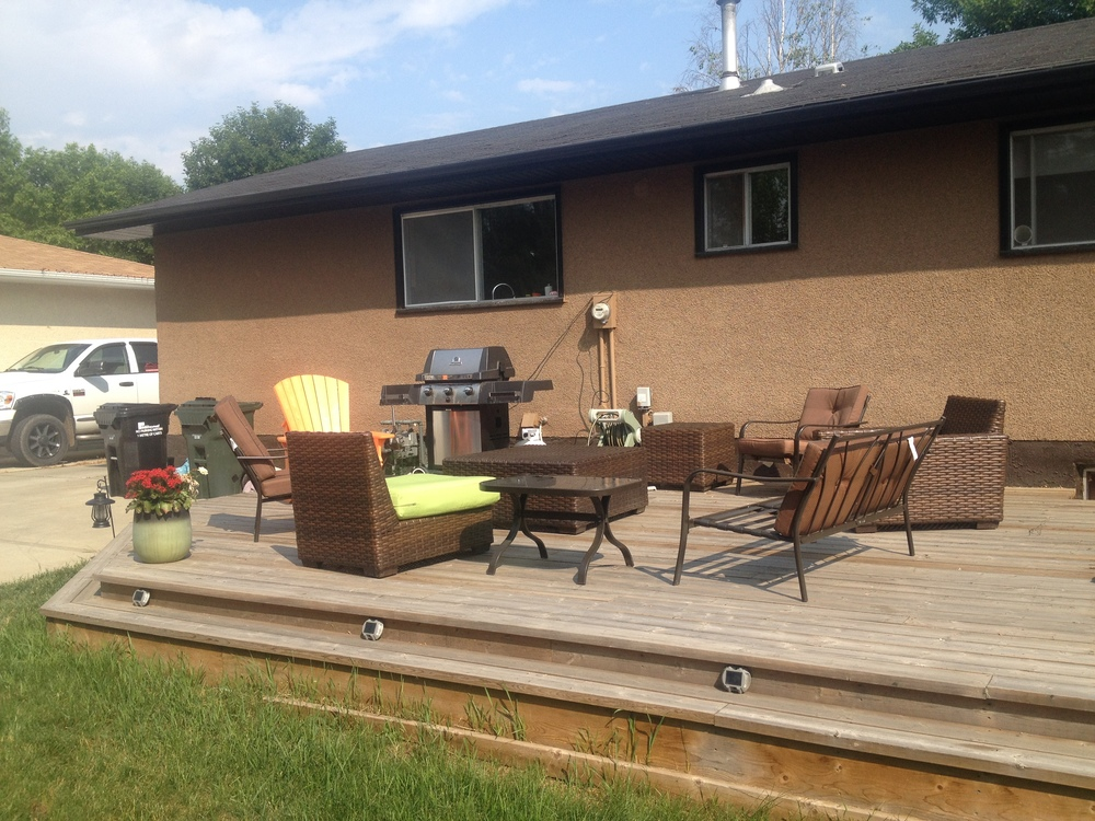 Exterior Projects - Sherwood Park Deck