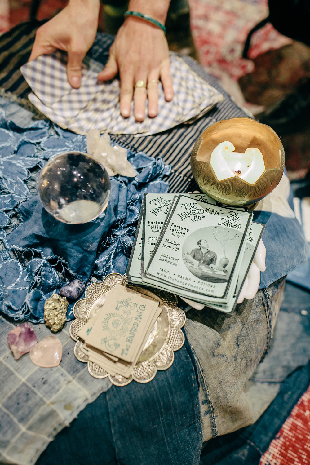 Photographer:  From SF With Love  Tarot Card Reader:  The Hanged Man Co.