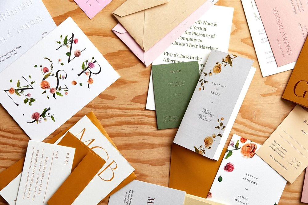 The Framework Events - Venamour Semi Custom Wedding Invitations
