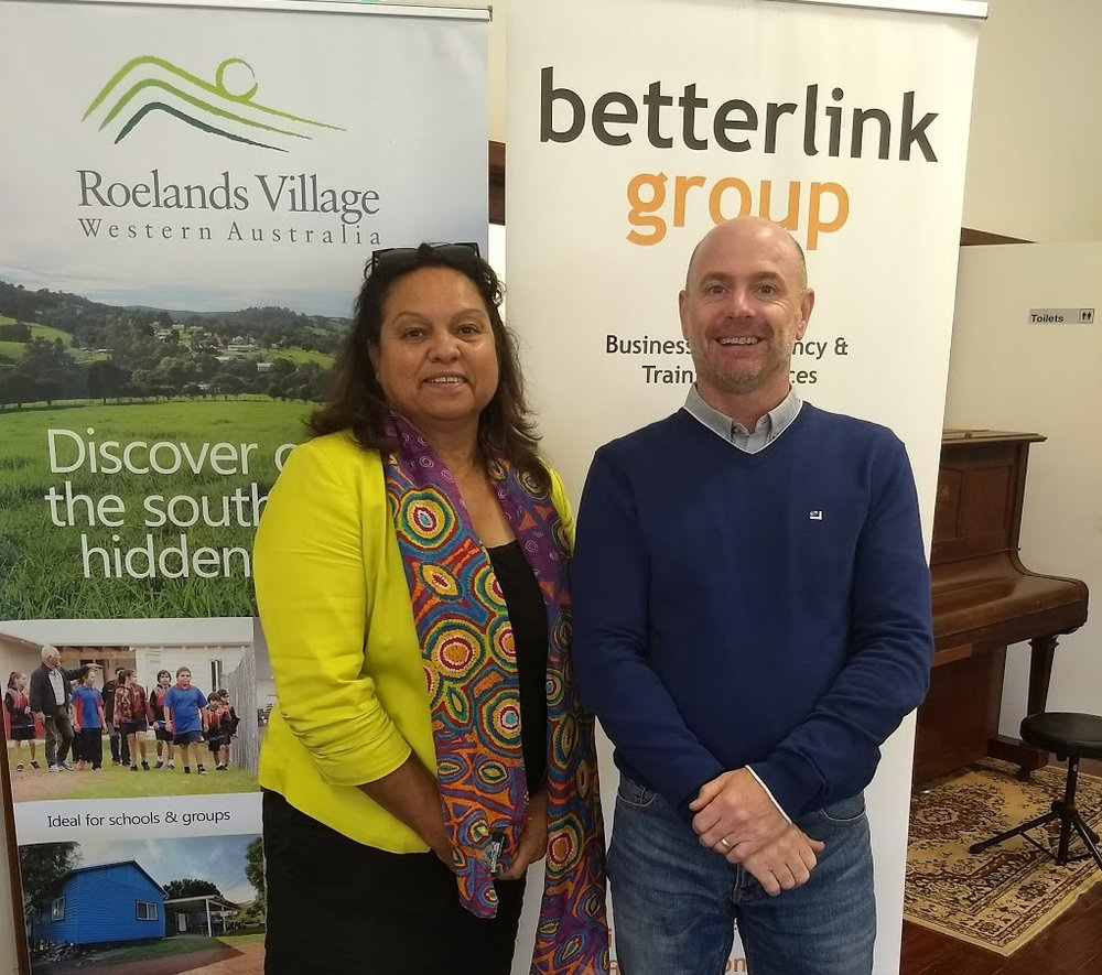 - Lesley Nelson CEO SWAMS with Paul Morgan Betterlink Group CEO