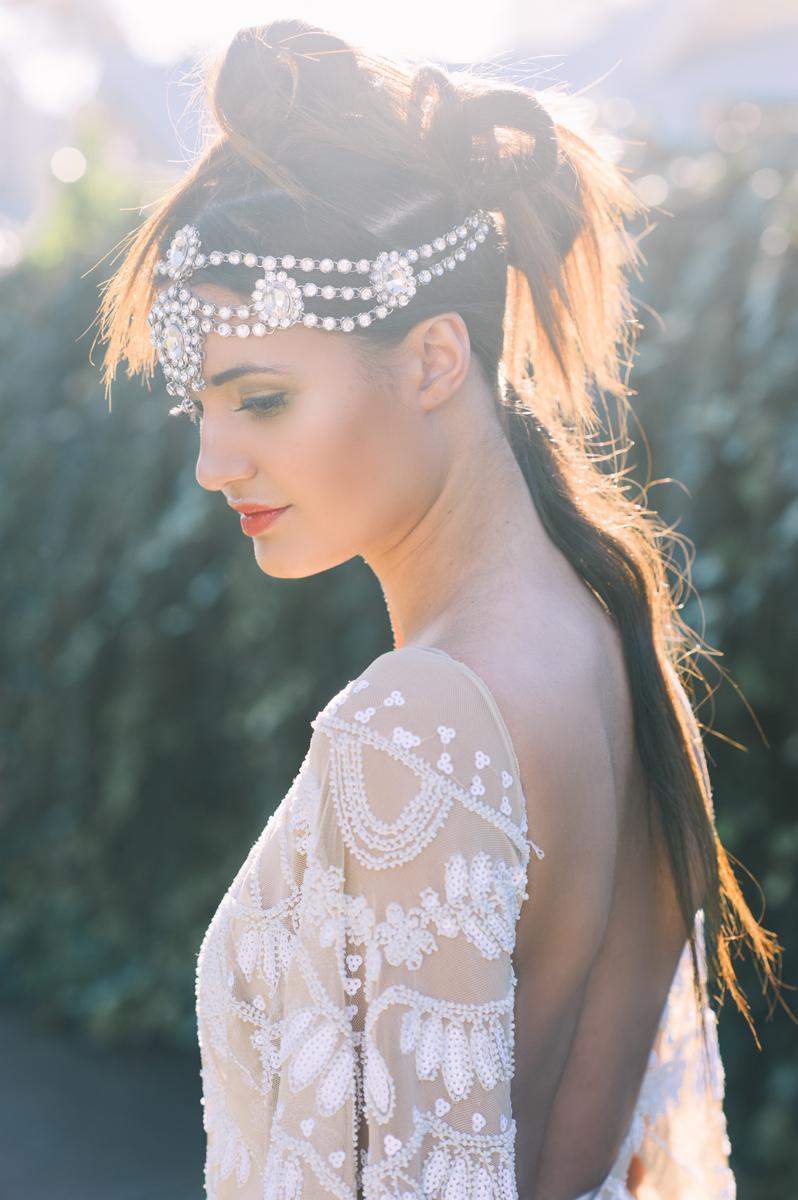 Bridal Editorial // Photo: Courtney Illfield