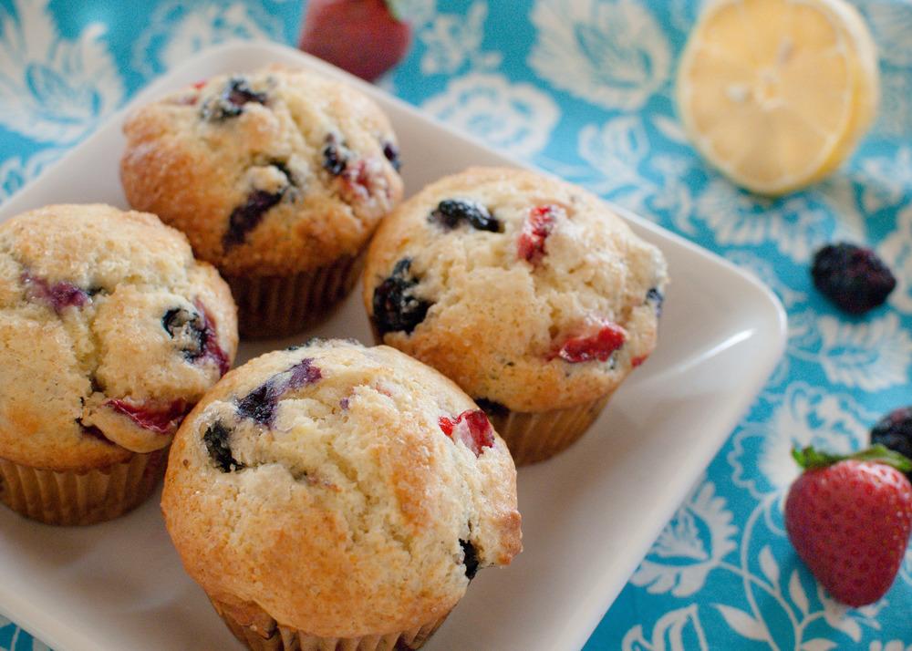 Lemon-Berry Muffins