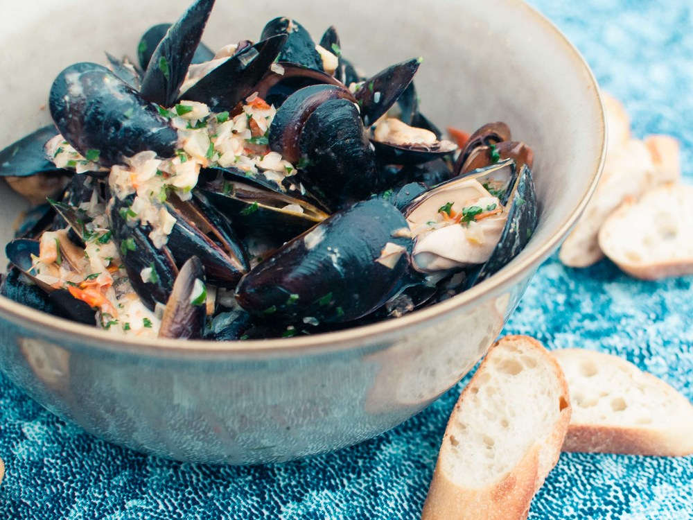 Mussels with Tomato and Fennel