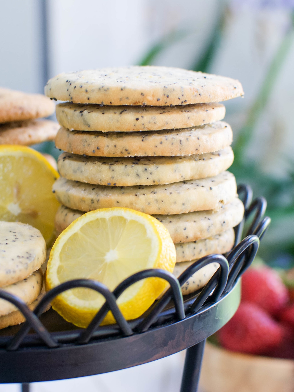 Lemon Poppyseed Cookies
