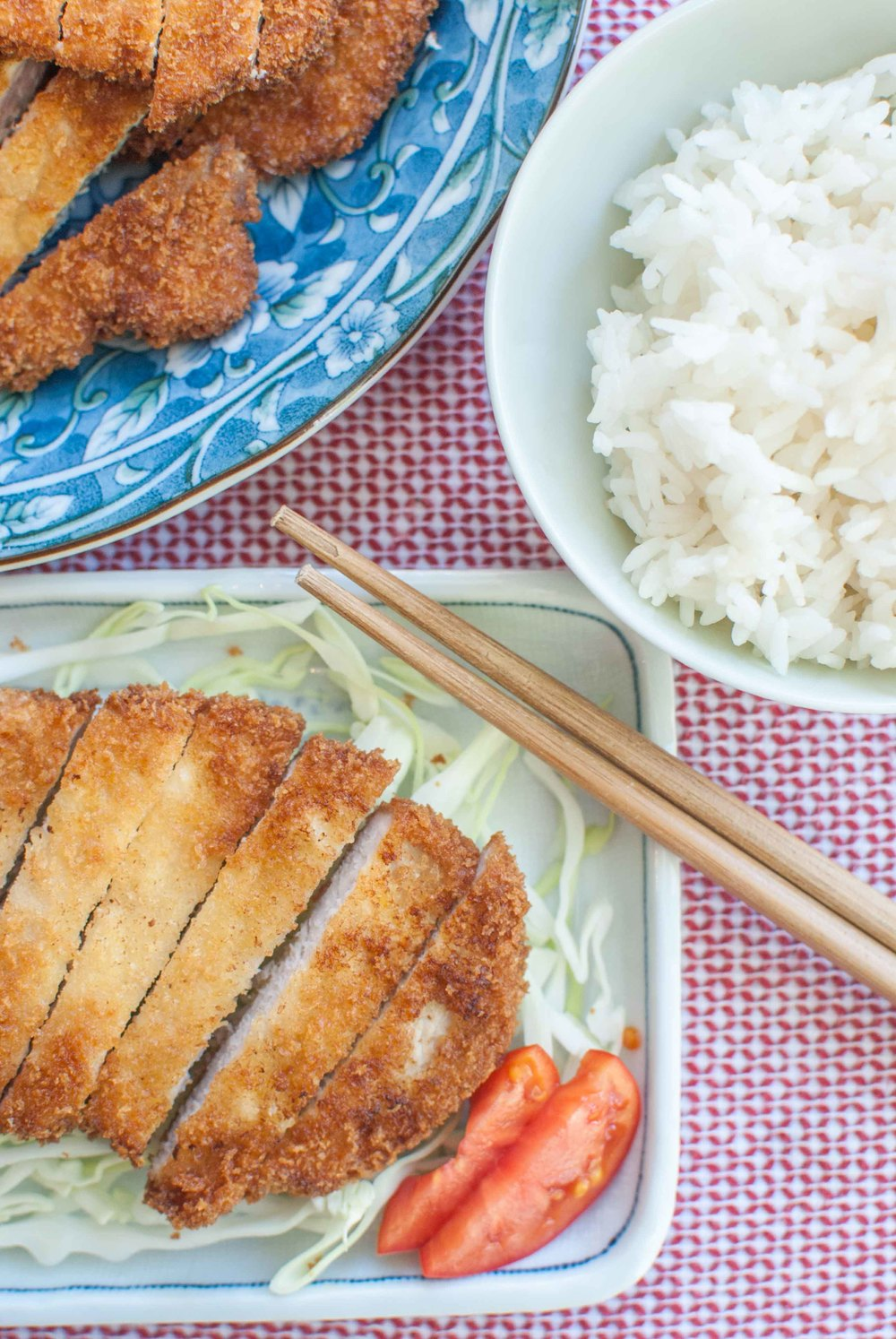 tonkatsu japanese fried breaded pork cutlet