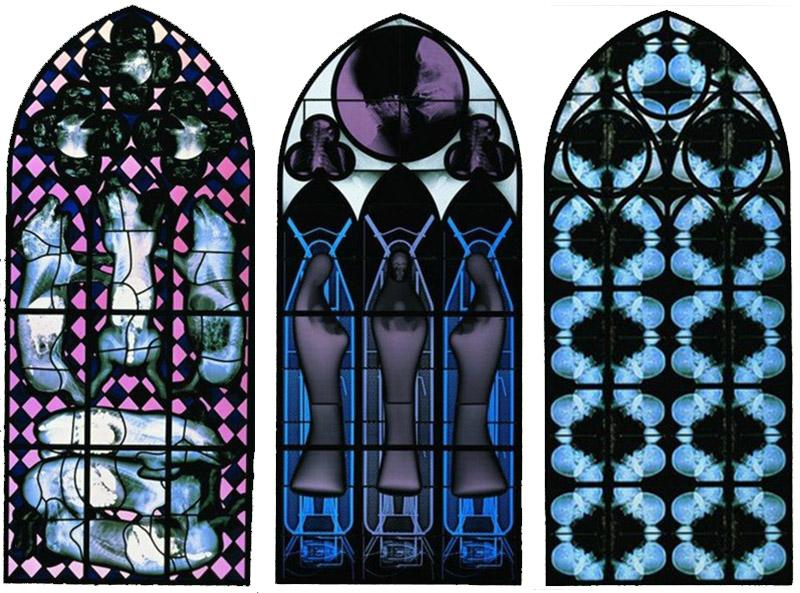 Wim Delvoye 'Chapel' series