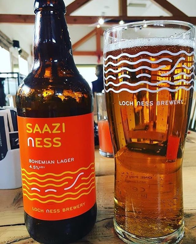 Cheers to Saturday folks! • • #saaziness  #lochnessbeers 📸: @ryanenick