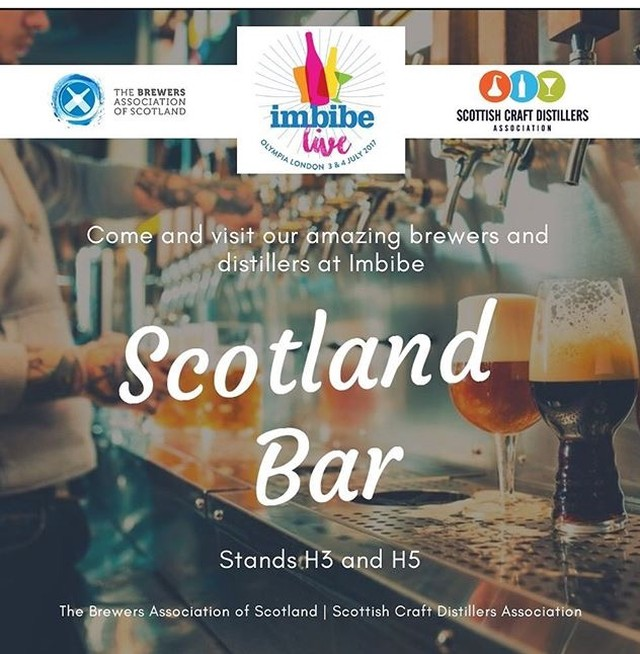 At #imbibelive? Come and see us at the #scotlandbar!