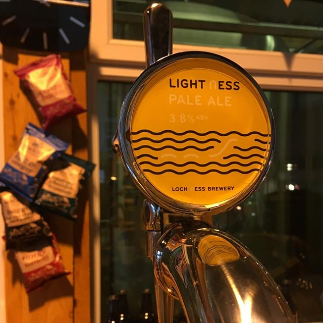 Fresh on the @Cairngorm_Brewery Tour & Tastings is #LightNess on tap!  Interested in coming along? Find out more on the Cairngorm Brewery website http://www.cairngormbrewery.com  #LochNessBrewery #PaleAle #BreweryTours #Aviemore #Cairngorms #BeerTasting #Beerstagram #BeersofInstagram