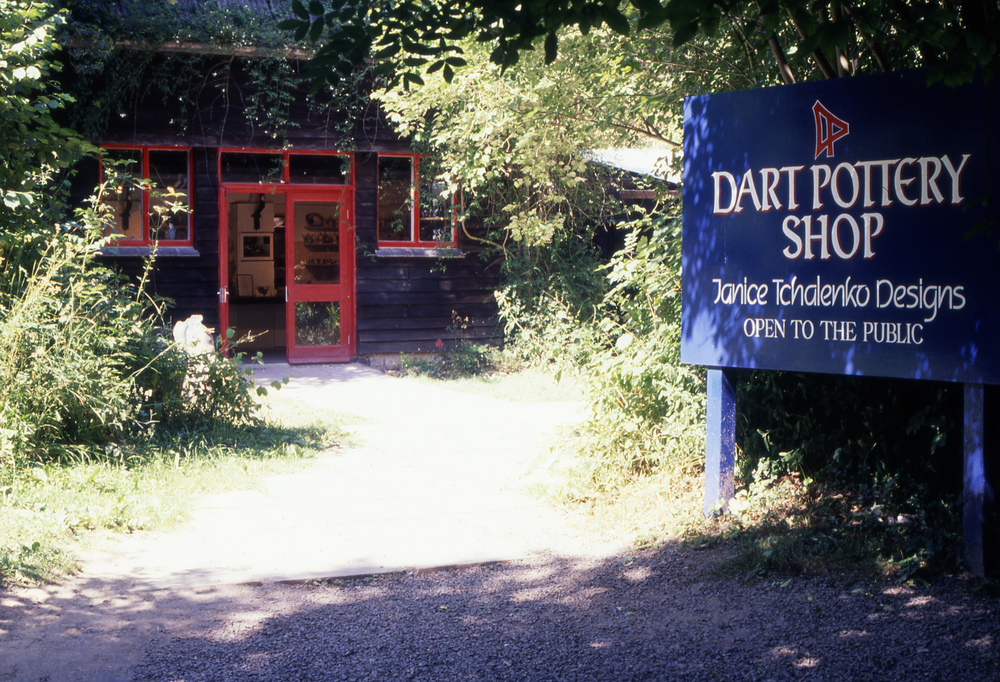 Dartington Pottery Entrance