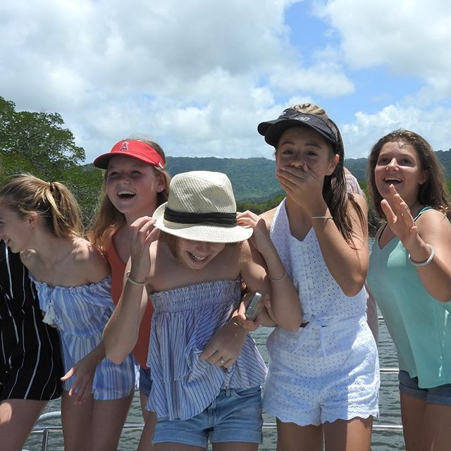 Adventure on the high seas, thanks Skipper Solly ⚓️ and the loveliest hostess ✨Nikita ✨, this little troop of tweens and teens had a lovely trip on the boat today!