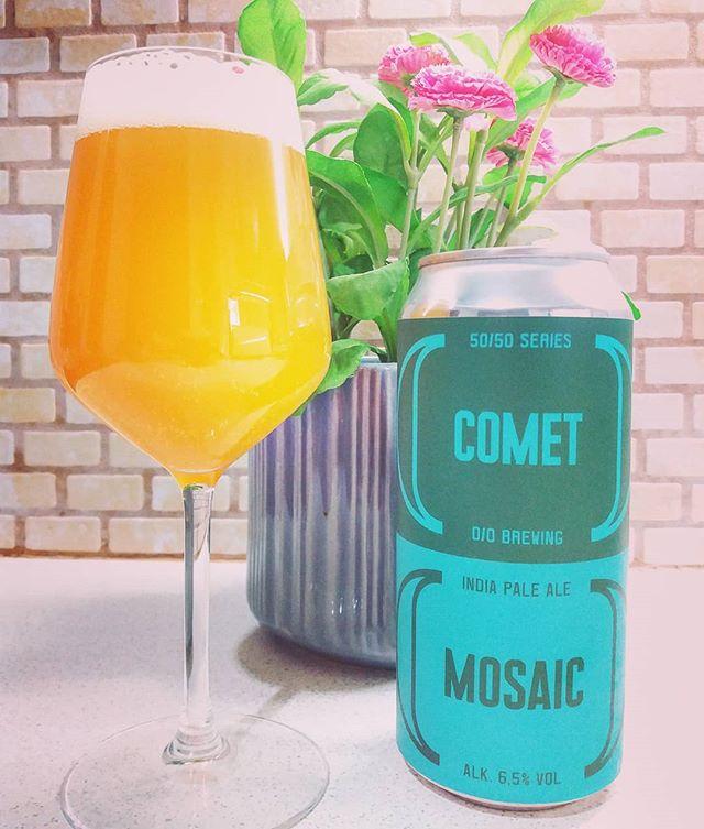 O/O Brewing 50%/50% Comet/Mosaic #meninale #oobrewing