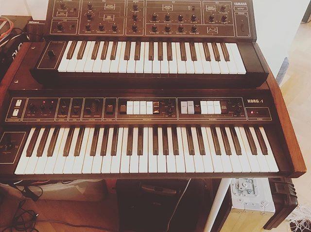 Today's tools: Loving the stings on the Korg Lambada!  #musicproducer #korg #korglambada  #korganalog #yamaha #deephouse #studiolife #recordingstudio #recordingartist #musicians #analogsynth