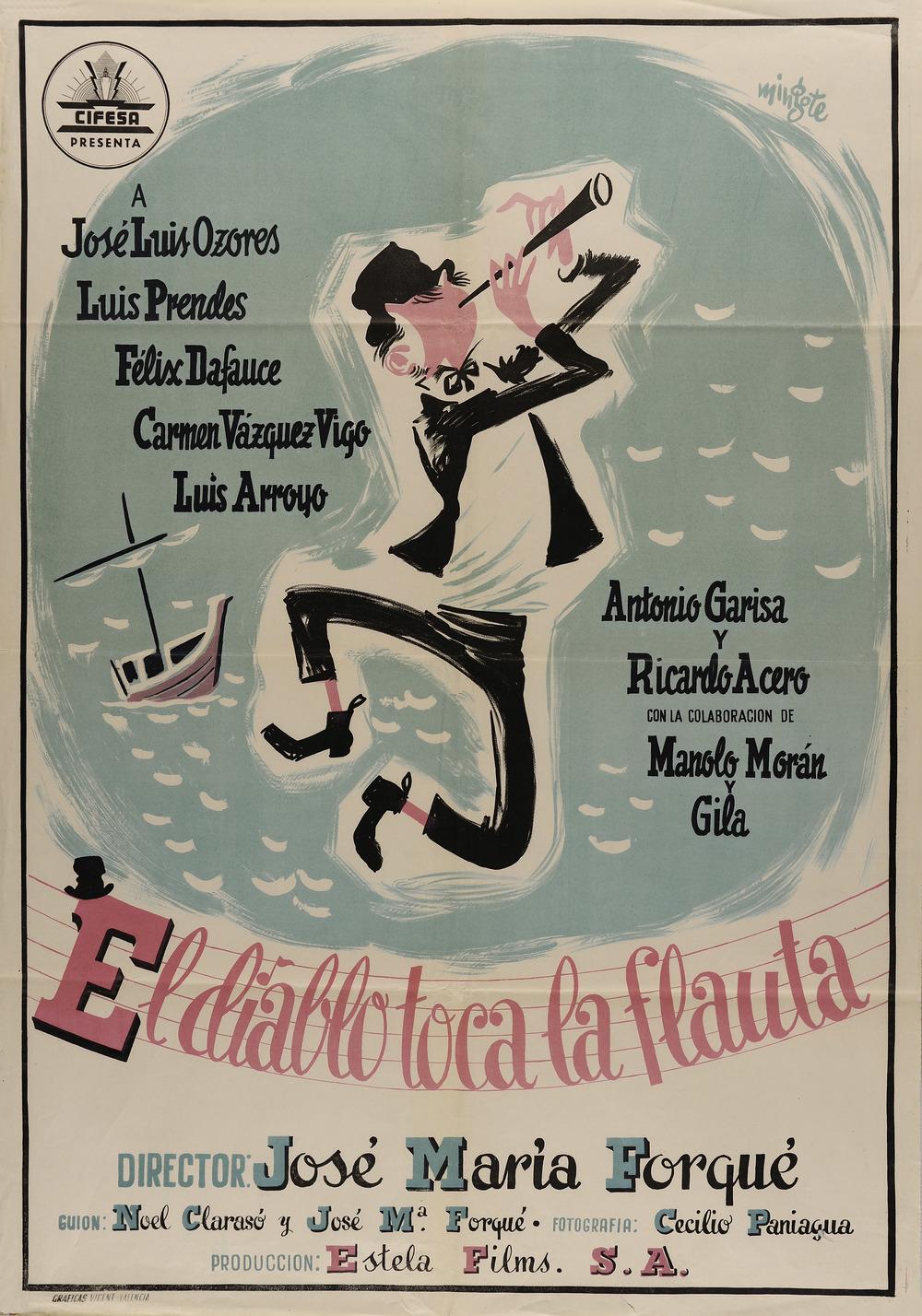 El diablo toca la flauta, cartel.jpg