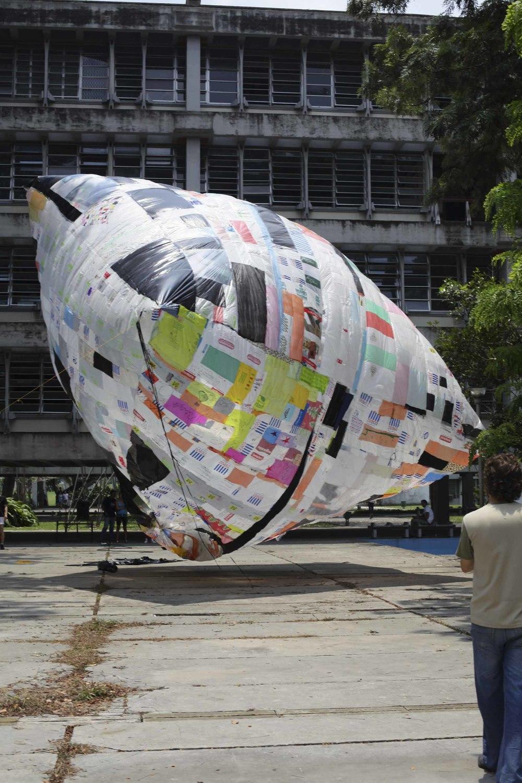 Museo Aerosolar in Havana, Cuba, 2012. © Museo Aero Solar, 2012.
