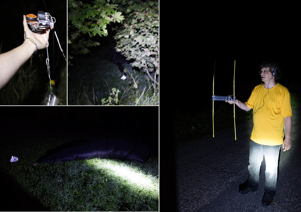 The sculptures' flight path was tracked with ARPS by Sven Steudte and Thomas Krahn of Radioamateur, along with Adrian Krell, and they were located in a field in Poland around 1:00 a.m. local time on 28 August, 2016.