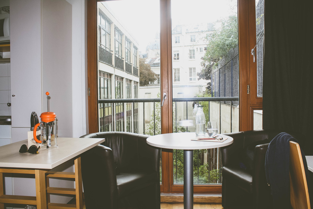 First Apartment in Paris: where we dine and drink.
