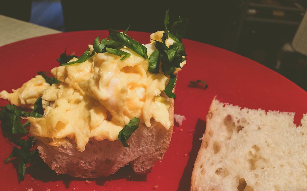 Fluffy Eggs for Breakfast
