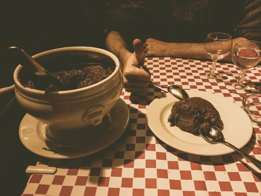 Chocolate Mousse Chez Janou