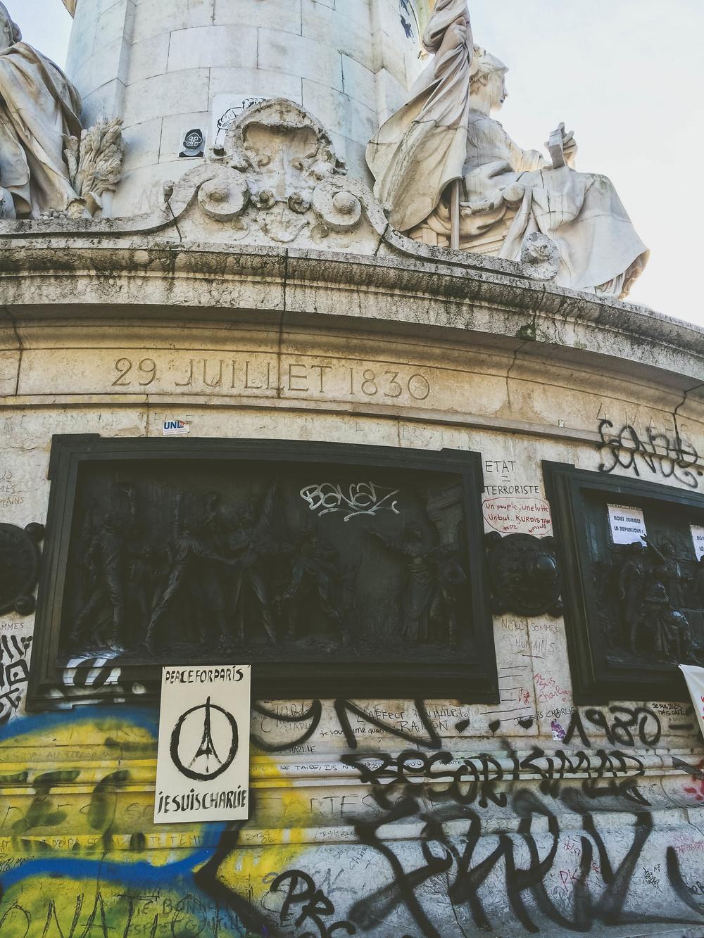 Place de la Republique memorial