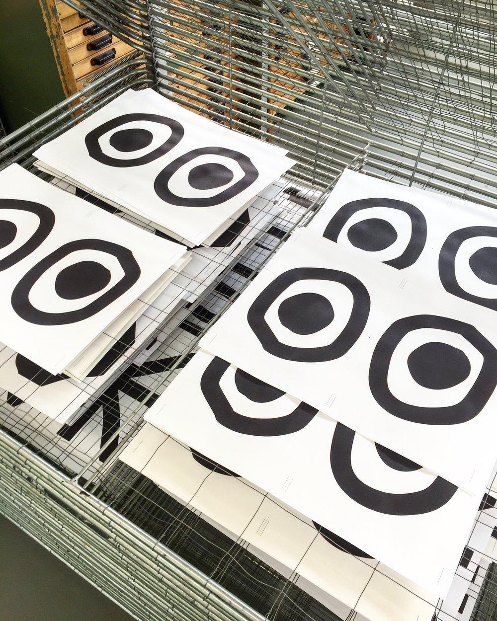 Black, 2016 Printed at the Charles Nypels Lab, Jan Van Eyck Academy, Maastricht
