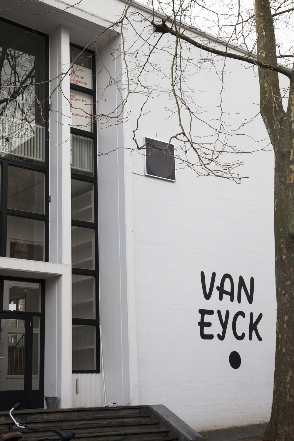 The Other side of the Moon, Front Wall Jan van Eyck Academie during the Open Studios 2018