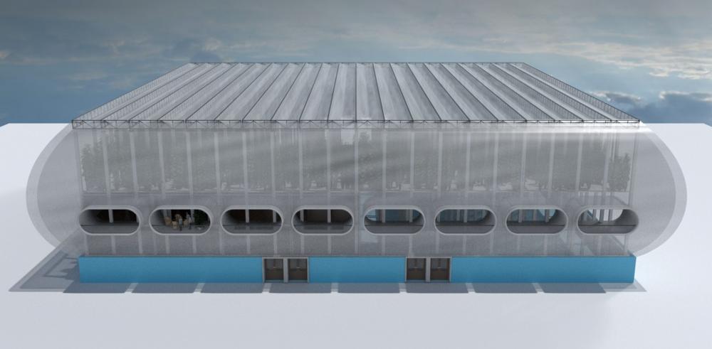 Potential design of a demo unit.
