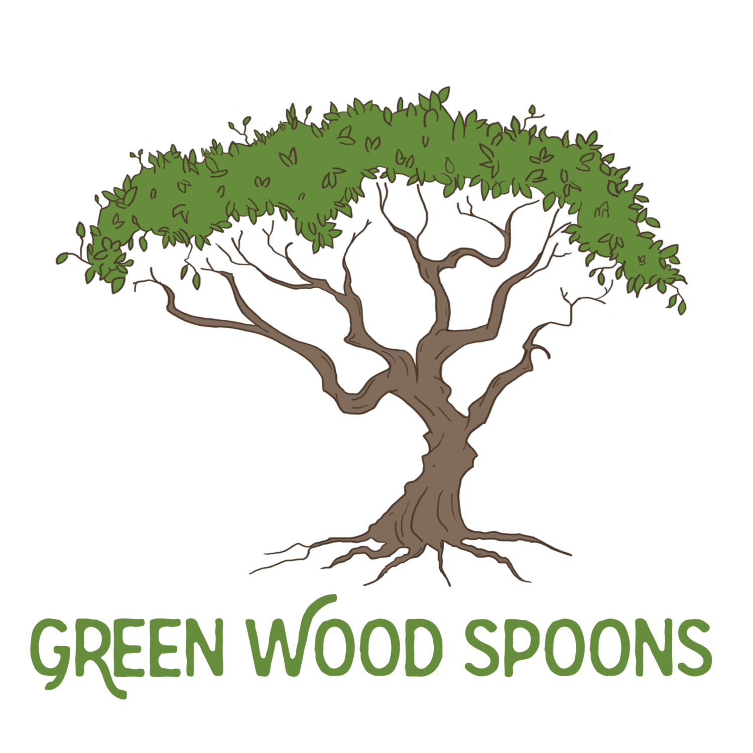 Green Wood Spoons