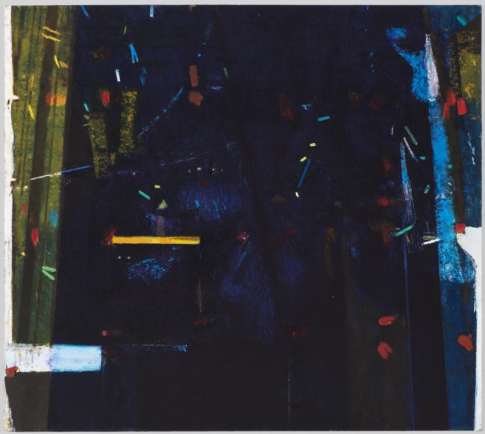 twilight echoes , 2013 oil on linen 38 x 42 in